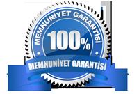 % 100 Müşteri Memnuniyeti
